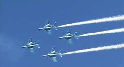 小松基地航空祭2009 ブルーインパルス