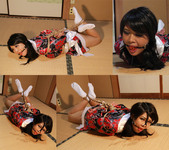 SY17 Japanese MILF Saya Bound and Gagged in Japanese dress Part4