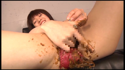 【FetishJapan】排便うんこで膣内掻き回し自慰 #008