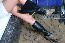 Wet&Messy Shoes画像集063