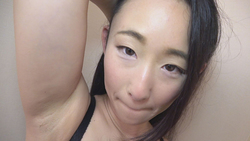 [Axillary fetish] I want to see a girl's armpit Hotaru 32 years old