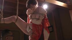 【h.m.p】異国の純白娘 縄乞い緊縛調教 #001