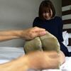 Tickling sole Misaki