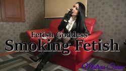 Woman Smoking Cigarette -Smoking Fetish- -Queen Sara Fetish Goddess Smoking Fetish