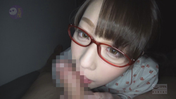[Kimo man ota revenge video] Yozorano Marina [2] put on glasses subjective blowjob