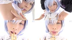 [Tickling & Giantess] Popular Anime Rezero Les ● (Momo Hazuki) Axillary Tickling & Giantess Fetish!