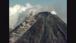 SD版コリマ火山・メキシコ 火砕流タイプ噴火 COLIMA volcano MEXICO 2002年4月
