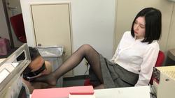 【黒パンスト美脚で足蹴にされる】私を本気で毛嫌いしていた女上司の思ひ出 りの16 FETK00791