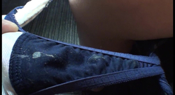 【パンツ染み】ガードが硬い関西訛りがカワイイ恥ずかしがり娘