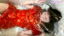 【びしょ濡れ!コスプレ着衣風呂・チャイナドレス編】-えっちなみさと-