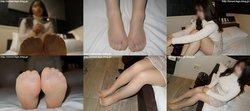 Street legs & socks snaps photobook & video Wakana