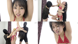 [Tickling] Popular actress, Mitsuki Nagisa-chan's restraint Multiple people tickle! !! This is Vol.3, the first collaboration work with popular tickling director Ram-san☆