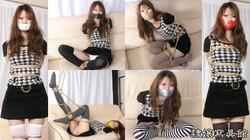 Rika Natsukawa Bound - In Overknee Socks Tapegagged - Full Movie