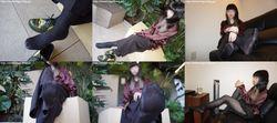 Street legs & socks snaps photobook + video Mayu