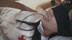 こちょこちょ族 黒髪○○巨乳笑い肉袋の逆襲 美少女 まこ 22歳 ナース編