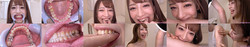 [With bonus video] Arimura Nozomi's teeth and bite series 1-3 collectively DL