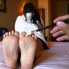 Tickling soles Hina Mashiro
