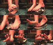 【動画】足裏秘宝館★裸足運動靴踏み動画☆聖香