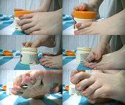 [Video] Foot soles treasure hall ★ Foot care ☆ Seika