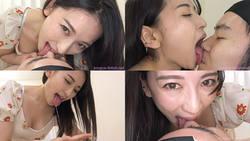 Yuri Sasahara-Face Nose Licking