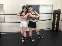 MMA in agony 005 Azusa Misaki vs Hana Kano Agony MMA 005 Azusa Misaki vs Hana Kano