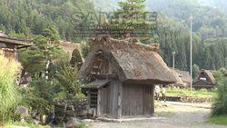 World Heritage site, Shirakawa-go Gassho houses and water mill-3