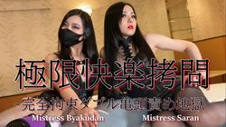 極限快楽拷問-完全拘束ダブル亀頭責め地獄- Extreme Pleasure Torture -Double Dom Glans Torment in Full Restraint-