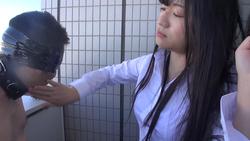 [Scary female boss] Makoto Slap outdoors ③ FETK00706